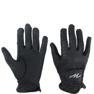 HANDSCHOENEN Mondoni Leatherfeel handschoen zwart