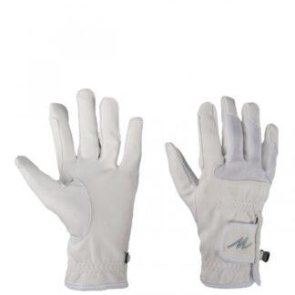 HANDSCHOENEN Mondoni Domy suede handschoen wit