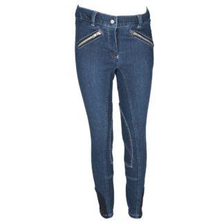 RIJBROEKEN Mondoni Jeans kinder rijbroek jeans