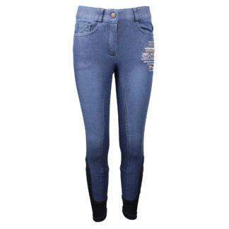 RIJBROEKEN Mondoni Eivissa kinder rijbroek jeans