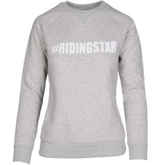 Sweatshirts & Truien Mondoni Riding Star sweater lichtgrijs