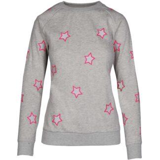 Sweatshirts & Truien Mondoni Star sweater lichtgrijs