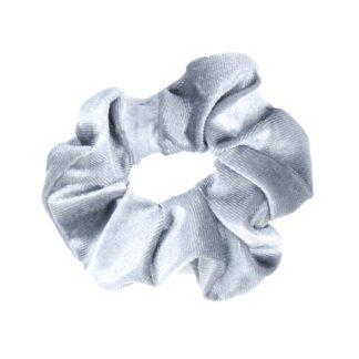 Wedstrijd accessoires Mondoni Scrunchie grijs