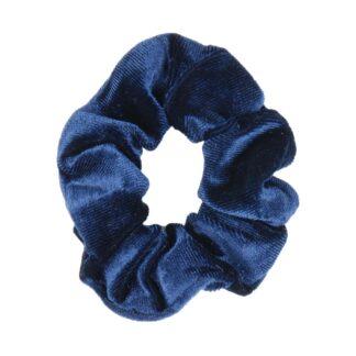 Wedstrijd accessoires Mondoni Scrunchie donkerblauw