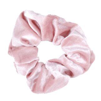 Wedstrijd accessoires Mondoni Scrunchie roze